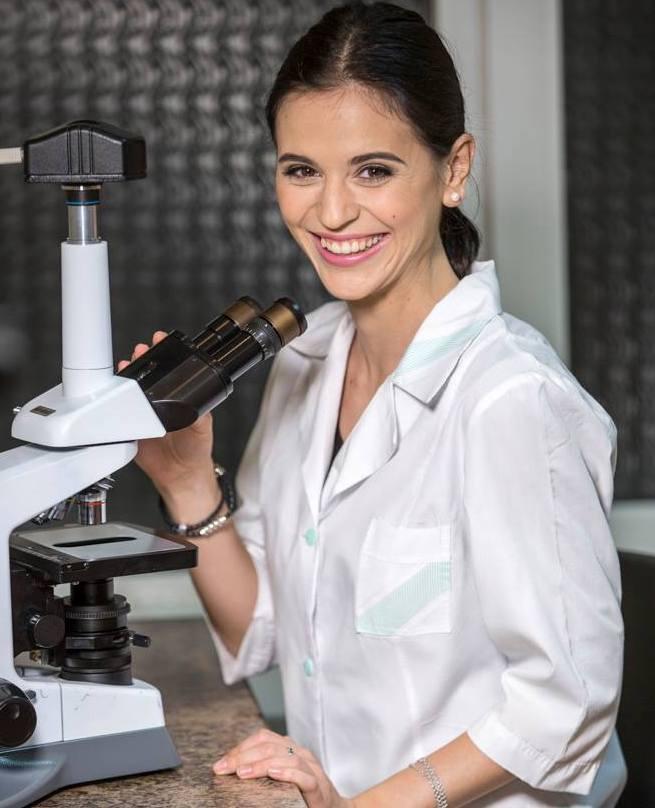 Дарія Лосєва, мікроскоп